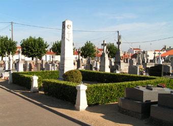 Le cimetière de la Chaume